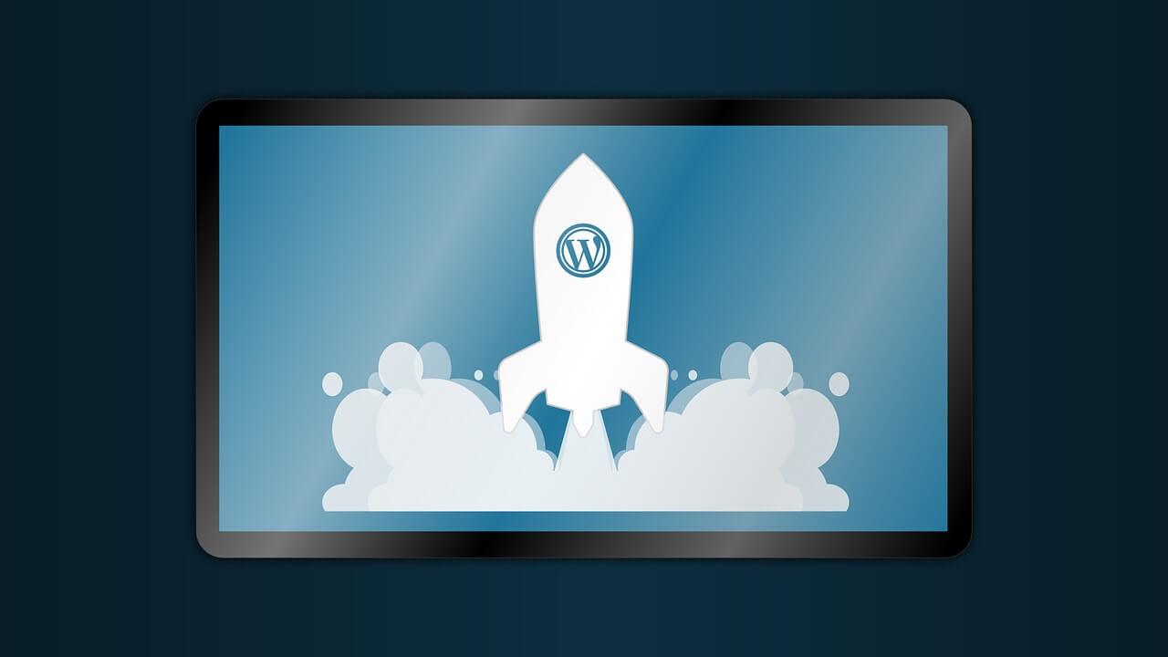 WordPressとロケット