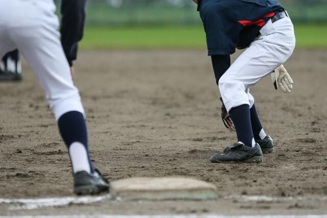 少年野球の様子